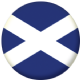 Scotland St Andrew Country Flag 25mm Keyring